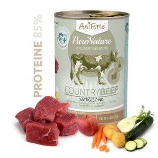 AniForte® PureNature Rind mit Karotte 400g